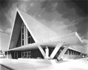 H-Space-age-church